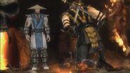 Scorpion loses to Raiden