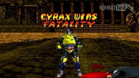 GBA MK TE Cyrax