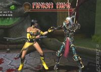 Mortal-Kombat-Armageddon Tanya vs Hotaru