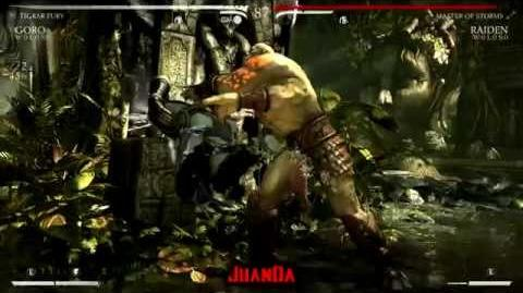 Mortal Kombat X Kuatan Jungle Stage Brutality