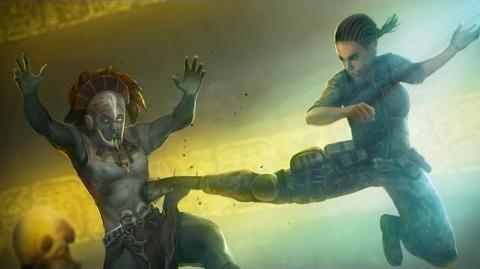 Mortal Kombat X - Jacqui Briggs' Ending