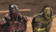 Cyrax offers the Lin Kuei's loyalty