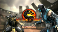 Mortal Kombat 9 press start