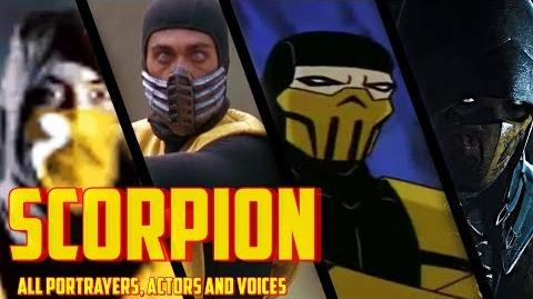 Scorpion All Portrayers, Actors and Voices