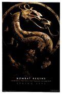 Mortal Kombat 1995 teaser poster