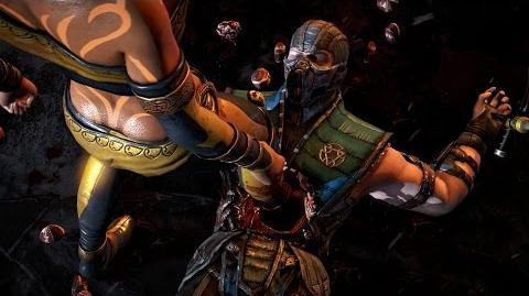 "Mortal Kombat X Tanya's ""Bloody Boots"" Fatality"