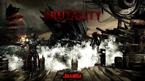 Mortal Kombat X The Kove Stage Brutality 2