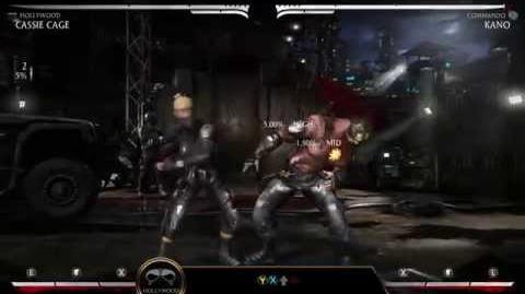 Mortal Kombat X Kombat Klass - Cassie Cage