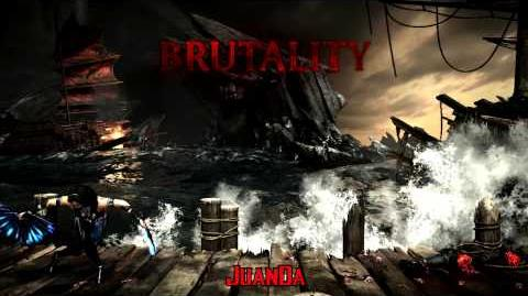 Mortal Kombat X The Kove Brutality