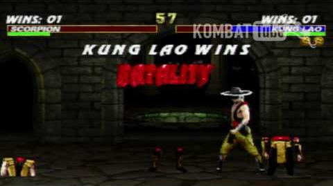 """MK III Kung Lao """"Hat Slices"""" Fatality"""