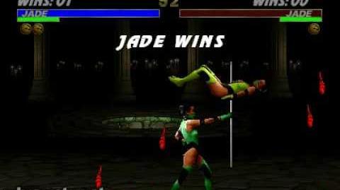Ultimate Mortal Kombat 3 - Fatality 2 - Jade