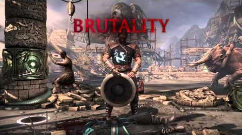 Kung Lao Brutality 1 - Open Wide