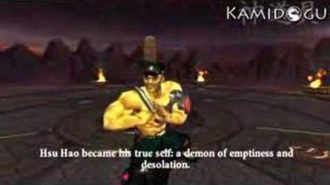 Mortal Kombat Armageddon Hsu Hao's Ending