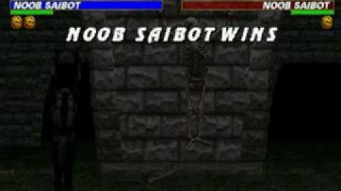 Mortal Kombat Trilogy - Fatality 1 - Noob Saibot