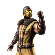Mortal kombat x ios scorpion render 8 by wyruzzah-da29si5