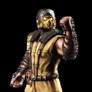 Mortal kombat x ios scorpion render 8 by wyruzzah-da29si5