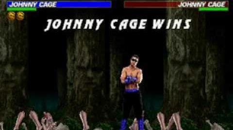 Mortal Kombat Trilogy - Fatality 1 - Johnny Cage