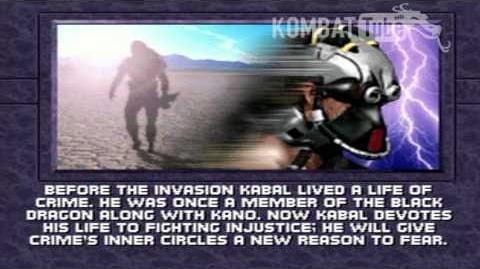 MK III Ending- KABAL