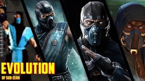 Mortal Kombat Sub-Zero Evolution (1992-2017)