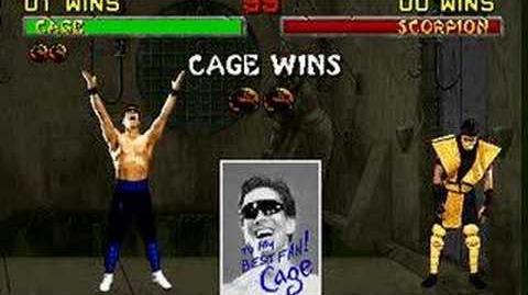 Mortal Kombat II - Friendship- Johnny Cage
