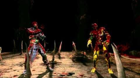 Mortal Kombat 9 - Ermac Fatality 2 HD