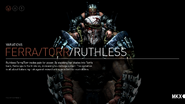 Ferra, Torr Ruthless Variation