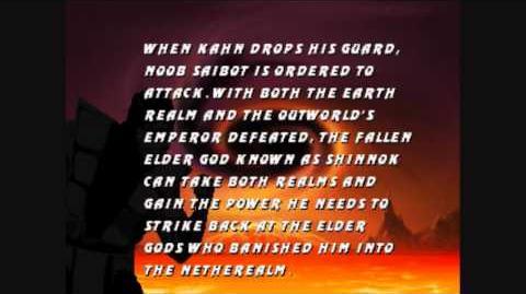 Mortal Kombat Trilogy- Noob Saibot Ending
