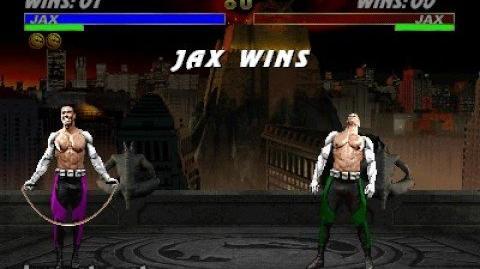 Mortal Kombat 3 - Friendship - Jax