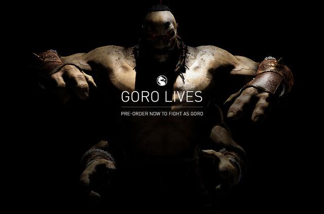 File:MKX Goro pre order.jpg