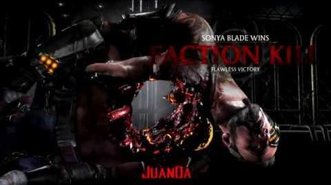 Mortal Kombat X Special Forces Faction Kills