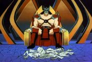 Shao Kahn's Throne Room (cartoon)