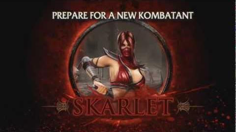 Mortal Kombat - Skarlet Trailer (PS3, Xbox 360)
