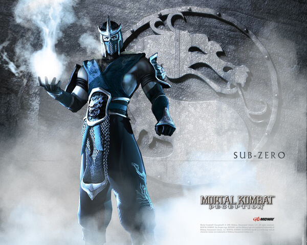 File:Mortal Kombat Deception Sub-Zero wallpaper.jpg