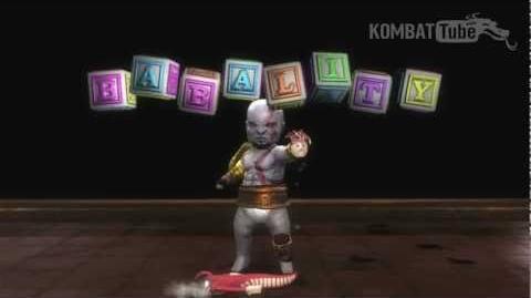 MK9 Kratos Babality