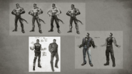 MKX Johnny Cage Concept Art 2