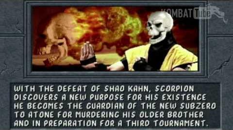MK II Ending- SCORPION