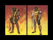 Scorpion Injustice concept art