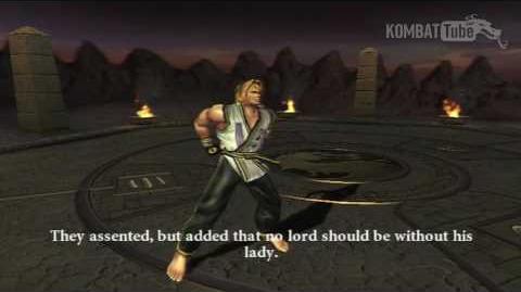 MK-Armageddon Ending- Kobra