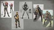 MKX Cassie Concept Art 2