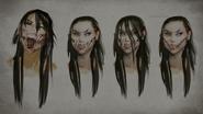 MK Mileena Concept Art 5