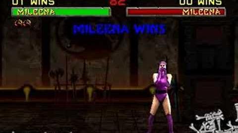 Mortal Kombat II - Fatality 1 - Mileena