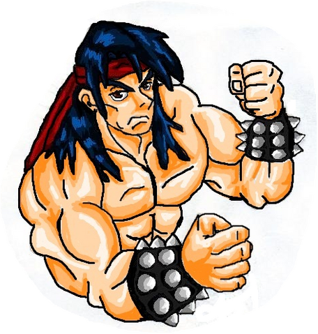 File:Mortal Kombat ll Arcade Art Liu Kang.png