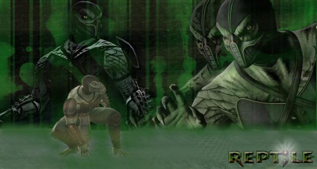 File:Reptile Mortal Kombat 9 by Khaluow-1-.png
