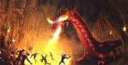 Caro vs. the Red Dragon Clan
