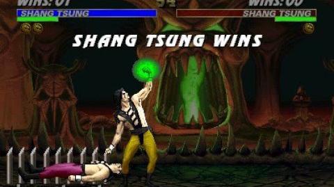 Mortal Kombat 3 - Fatality 1 - Shang Tsung