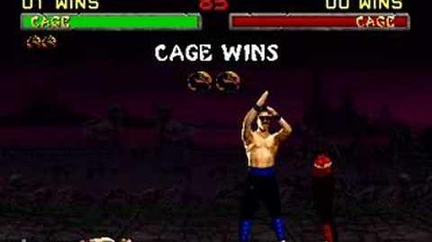 Mortal Kombat II - Fatality 3 - Johnny Cage