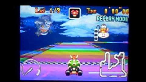 "MK Super Circuit WR 0'34""53 Rainbow Road"