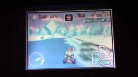 "MK Super Circuit WR 0'58""73 Snow Land"