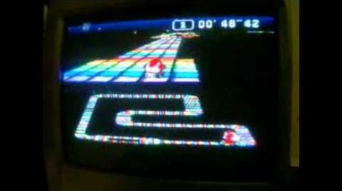 "Super Mario Kart WR 1'26""64 Rainbow Road"