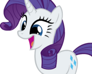 Rarity awesome face by buttsurgeon-d59fzhv